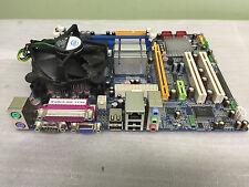 EVOC ATX-8812VNA  MicroATX Board LGA 775 Motherboard W/CPU, FAN. PCB-S014-24