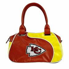 Kansas City Chiefs Women Per-fect Bowler Bag Purse by Little Earth NFL Authentic