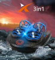 Hovercraft Fold 4-axis Aircraft Quadcopter Drone Toy RC Control Helicopter Gift