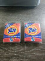 NEW - Tide Travel Sink Detergent Packets (2-Packs - 6 Uses). Perfect for travel.