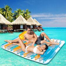 Intex Luftmatratze Badeinsel Schwimmliege für Pool Lounge Wasserliege Poolliege