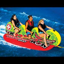Wow Watersports Dragon Banana Boat 3 Rider Inflatable Water Tube Towable 13-1060