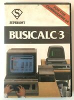 Busicalc 3 : Commodore 64 : Supersoft : Spreadsheet Programme : Cassette