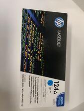 HP Print Cartridge Color LaserJet 124A Cyan Q6001A Genuine/OEM new sealed