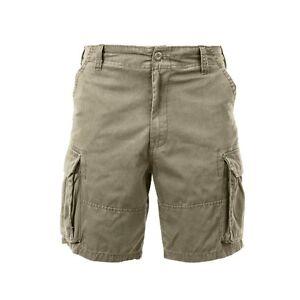 Rothco 2170 Khaki Vintage Paratrooper Cargo Shorts