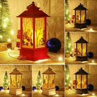 Christmas LED Lantern DIY Fairy Hanging Ornament Table Lamp Party Party Decor