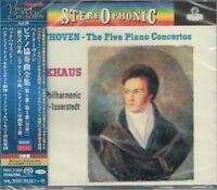 Beethoven Five Piano Concertos Backhaus Japan 3 SACD w/OBI NEW/SEALED