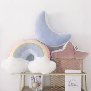 Cartoon Star Pillow Super Soft Cushion Moon Doll Plush Doll Sleeps Girl's Cute