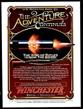 1995 WINCHESTER Model 70 Classic Sporter Rifle AD The Adventure Continues