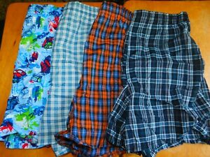 VINTAGE FRUIT OF THE LOOM 4 PAIR BOY'S MULTI COLORED BOXERS/EXTRA LARGE/NWOT