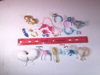 MONSTER and EVER AFTER HIGH LOT OF DOLL Parts and Accessories