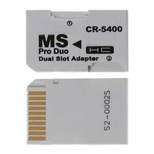 Memory Card Adapter SDHC Cards Adapter Micro SD/TF to MS PRO Duo for PSP Card