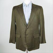 Corneliani Made in Italy Brown 52% Silk / 48% Cashmere Sportcoat 44 L