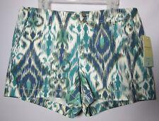 NWT Sonoma Life + Style Modern Fit Stretch Shorts Blue Lake Sze 16