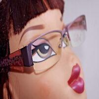 Lunettes monture de vue / solaire Eyeglasses woman femme Vintage PRF03 C02 5