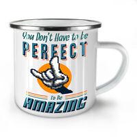 Be Amazing NEW Enamel Tea Mug 10 oz | Wellcoda