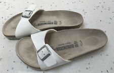 White Birkenstock Sandals - Size 39/6