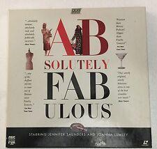 BBC AB FAB Absolutely Fabulous Laserdisc set Sanders French