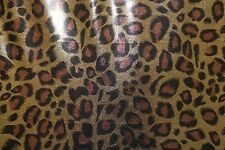 Foil Animal Leopard ITY Print #168 Stretch Polyester Lycra Spandex Fabric BTY