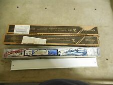 (2) LITHONIA LIGHTING Z217 MV Z217MV LOW PROFILE STRIP FIXTURE ONLY 2' LOT OF 2