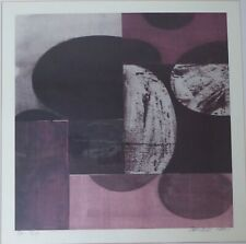 Charles Arnoldi XV 4/14 Abstract Art Signed & Numbered Lithograph 2001 RARE