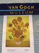 van gogh Print/ Van Gogh Museum , Amdterdam / sunflowers , Arles 1889