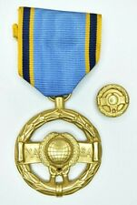 Authentic Vintage Early NASA Exceptional Service Medal Engraved