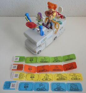 Toy Story 4 McDonald's Happy Meal Set of 10 Complete RV w/ Figures
