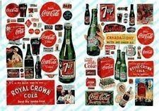 JL Innovative 697 N 1930-60's Vintage Soft Drink Posters/Signs (72)