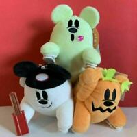 Tokyo Disney Resort Limited Ghost Mickey Shoulder Plush Halloween 2019 Set of 3