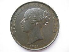 1855 Queen Victoria Penny Plain Trident NEF