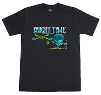 Knight Tyme Loading Screen 8 Bit Spectrum 48k Magic Knight Retro T-Shirt