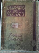 Litografía Moda Parisina Album Completo Beaux Arts 1931 Acuarela Dibujo Epoca