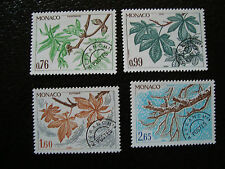 MONACO - timbre - yvert et tellier preoblitere n° 66 a 69 n** (A3) stamp