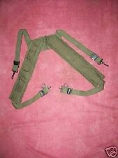 EARLY VIETNAM (63)  M-1956 ADJ. CANVAS FIELD/ BUTT  PACK  SUSPENDERS MINT