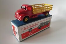 dinky toys 531 - Leyland Cornet Lorry - boxed - red / yellow