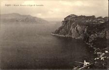 CAPRI Monte Tiberio Capo di Sorrento ~1910 Vintage Postcard Italien Italy AK