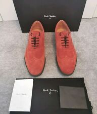 100% Authentic Paul Smith Rust Suede Carson Lace Up  Oxford Brogue Shoes UK 8