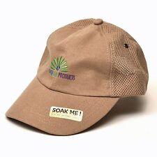 Aussie Chiller Baseball Cap w/ Paradise Golf Products logo, Tan