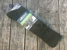 COMMANDO PATROL SOCKS Olive Green British Army Style Combat Hiking Walking Boots
