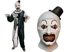 Halloween Terrifier Art the Clown Costume & Latex Mask Tot's Officially Licensed