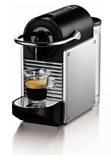 Magimix Nespresso Pixie Coffee Machine - Aluminium. 19 Bar Pressure.