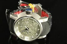Invicta Men S1 Round Yakuza Silver Dragon Automatic NH35 SS Black/Red Strp Watch
