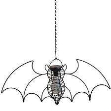 Alchemy Gothic Bat Wings LED Metal Solar Light Hanging Garden Home