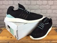 DIAMOND SUPPLY CO MENS UK 8 EU 42.5 BLACK WHITE ALL DAY LITE TRAINERS RRP £75