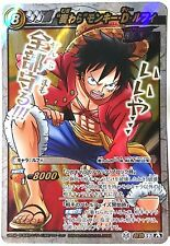 One Piece Miracle Battle Carddass Straw Hat Monkey D. Luffy OP Super Omega Ω 57