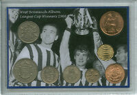 West Bromwich Albion W.B.A Brom WBA League Cup Winners Retro Coin Gift Set 1966