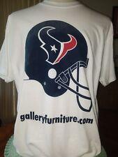 Houston Texans Gallery Furniture T shirt XL Reliant Stadium NFL Hurricane Harvey