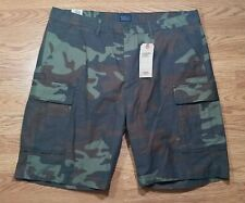 New - Levi Strauss Carrier Cargo Shorts (Size 40) Camouflage Color