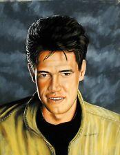 "Gary Adelman, ""Randy Travis"", 16.75x22, Hollywood, Original, Pastel"